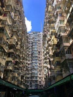 密集住宅の写真・画像素材[4692307]