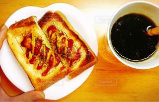 ホットドッグトーストの写真・画像素材[2495813]
