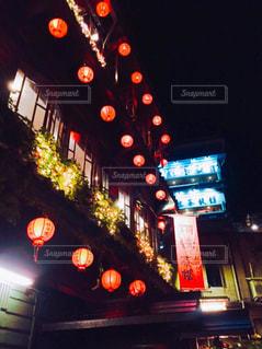 夜,屋外,観光,提灯,台湾,九份,海外旅行,千と千尋の神隠し