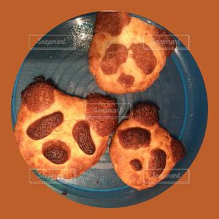 子供,パンダ,クッキー,バレンタイン,手作り