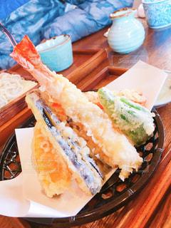 天ぷら蕎麦の写真・画像素材[1657535]