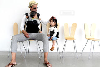 白,親子,子供,人物,人,金沢,ホワイト,二十一世紀美術館
