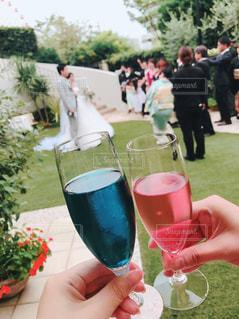 カラフル,結婚式,グラス,幸せ,カクテル,乾杯,ドリンク