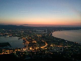 函館山からの夜景の写真・画像素材[1688135]