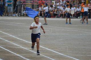 徒競走の写真・画像素材[2565089]