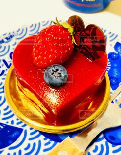 ケーキ,いちご,苺,ハート,ブルーベリー,バレンタイン,イチゴ,逆バレンタイン,彼氏からのプレゼント