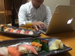 寿司お預けの写真・画像素材[1559267]