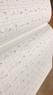 文字,練習,手書き,書く,ボールペン,ひらがな