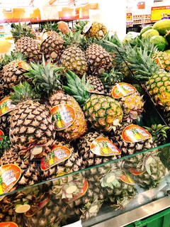 フルーツ,果物,果実,パイナップル,新鮮,スーパー