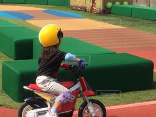 屋外,バイク,子供,ヘルメット,バランス,茂木