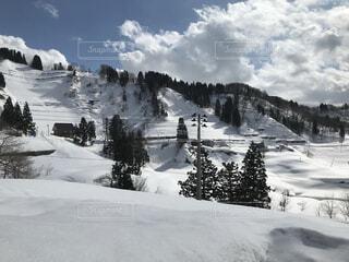 自然,空,雪,屋外,山,スキー