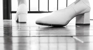 白い靴の写真・画像素材[1799073]