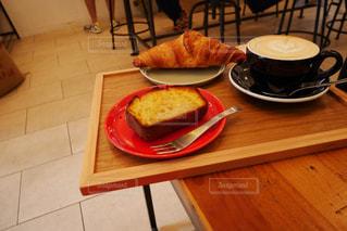 カフェのモーニングの写真・画像素材[2251850]