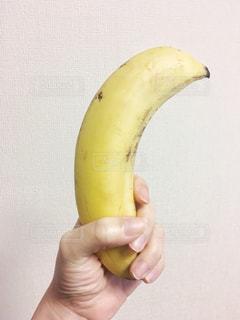 黄色,手,フルーツ,果物,イエロー,バナナ