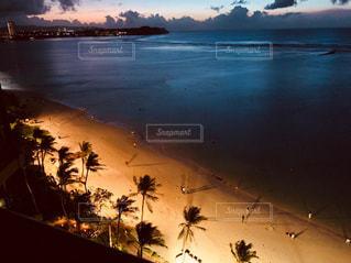 風景,海,絶景,ビーチ,夕焼け,夕暮れ,海岸,景色,旅行,グアム,海外旅行,タモン,サンセットビーチ