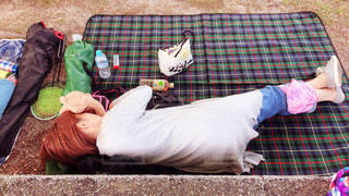 昼寝の写真・画像素材[1633475]