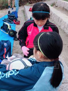 サッカー少女の写真・画像素材[1664304]