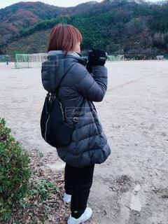 真冬コーデの写真・画像素材[1670957]