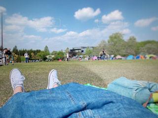休日の公園の写真・画像素材[2081381]