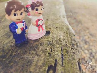 カップル人形♡の写真・画像素材[1604479]