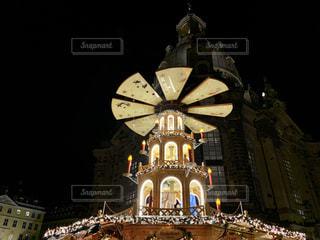 クリスマスのシンボル クリスマスピラミッドの写真・画像素材[2869152]