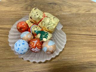 可愛いテディベアのチョコレートです。の写真・画像素材[2886112]