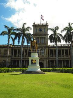 風景,建物,海外,建築物,アメリカ,景色,観光,旅行,銅像,像,ハワイ,Hawaii,海外旅行,米国,王,海外観光,ハメハメハ大王