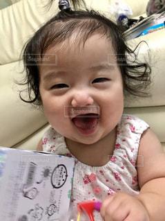 娘の笑顔の写真・画像素材[1589020]