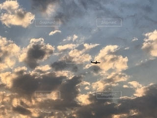 空,飛行機,未来,航空機,希望,色・表現