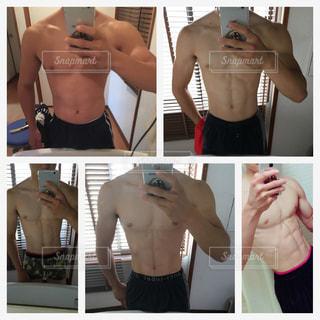 男,高校生,ダイエット,筋肉,腹筋