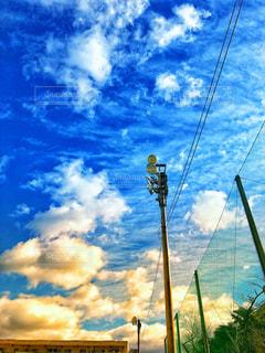自然,風景,空,雲,青空,白い,ホワイト,滋賀県