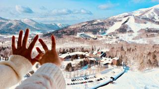 雪景色の写真・画像素材[1819385]
