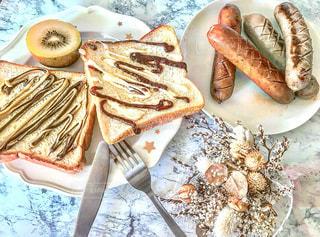 食卓,ウインナー,朝ごはん,ソーセージ,アンバサダー,ジョンソンヴィル