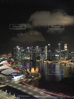 夜,海外,観覧車,景色,ライトアップ,旅行,シンガポール,海外旅行,シンガポールフライヤー,おしゃれ,Singapore,インスタ映え,フライヤー