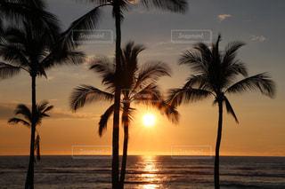海,夕日,ビーチ,夕焼け,夕暮れ,癒し,ポジティブ,また明日