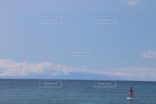 海,ボート,青,雄大,広い,ポジティブ,sup,スタンドアップパドルボート