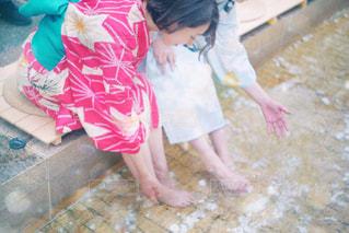 水遊びの写真・画像素材[2317096]