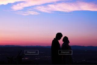 日没の前の幸せな時間の写真・画像素材[1619276]