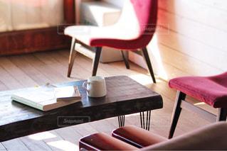 カフェでの一時の写真・画像素材[2255396]
