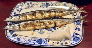 秋刀魚の写真・画像素材[1643831]