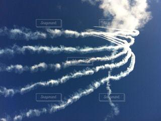 空,雲,青,飛行機,未来,飛行機雲,願い,希望,飛躍