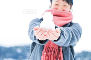 自然,冬,雪,屋外,白,マフラー,田舎,雪だるま,田舎道,愛媛県,西予市