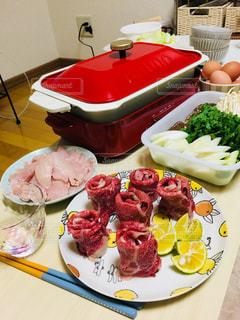 食べ物,ご飯,肉,牛肉,和牛,夕食,すき焼き,スキヤキ,ブルーノ