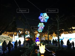西武遊園地のイルミネーション2018冬の写真・画像素材[1689238]