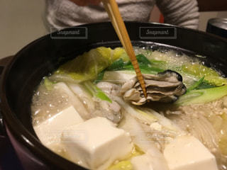 牡蠣鍋の写真・画像素材[1717740]