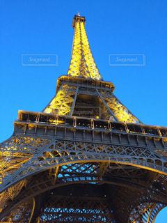 風景,夜,海外,綺麗,光,観光,見上げる,ライトアップ,旅行,フランス,パリ,エッフェル塔,海外旅行,新婚旅行