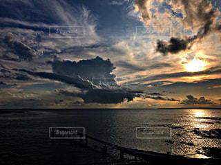 自然,屋外,太陽,ビーチ,雲,砂浜,夕暮れ,海岸,景色