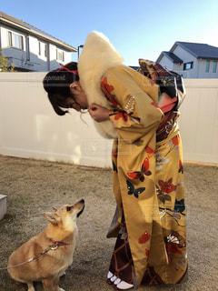 犬,女,振袖,成人式,20歳,芦屋,感謝