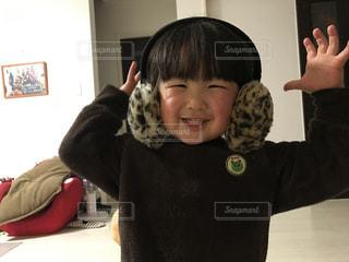 ニコニコ幸せ笑顔の写真・画像素材[1602326]