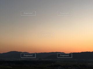 自然,風景,空,屋外,晴れ,夕暮れ,景色,夕景,色,ミルクティー色